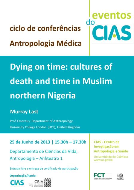 Dying on time: cultures of death and time in Muslim northern Nigeria