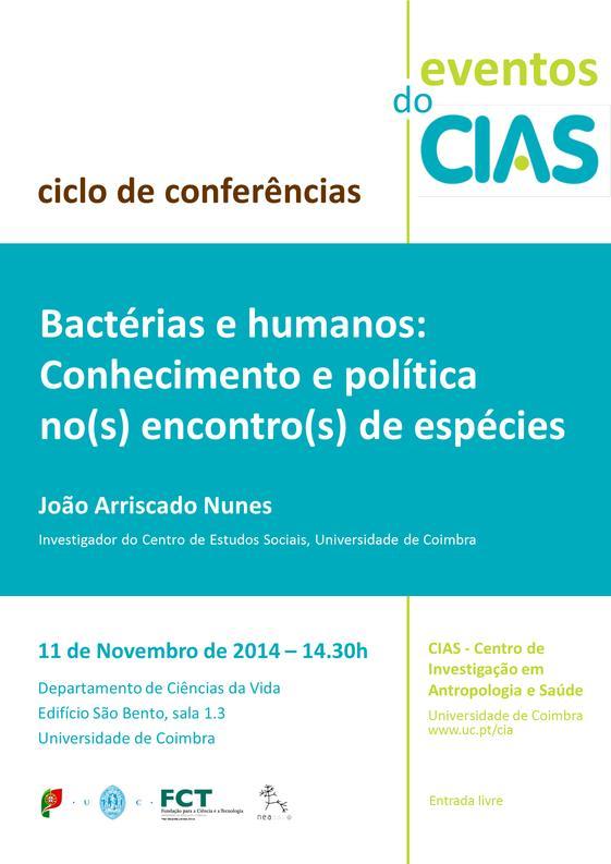 Bactérias e humanos: conhecimento e política no(s) encontro(s) de espécies