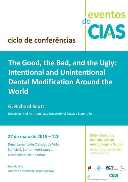 Conferência Prof Scott 27 maio