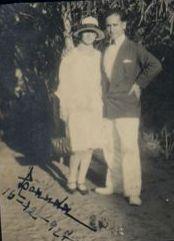 Lucas Junot e Esposa