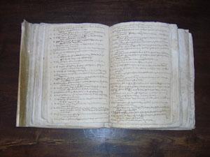 Matrículas dos estudantes da Universidade de Coimbra (ano lectivo 1580-1581), fl. 4V-5