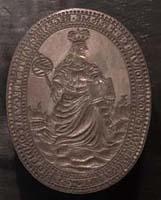 Matriz do selo da Universidade de Coimbra (séc. XIX)