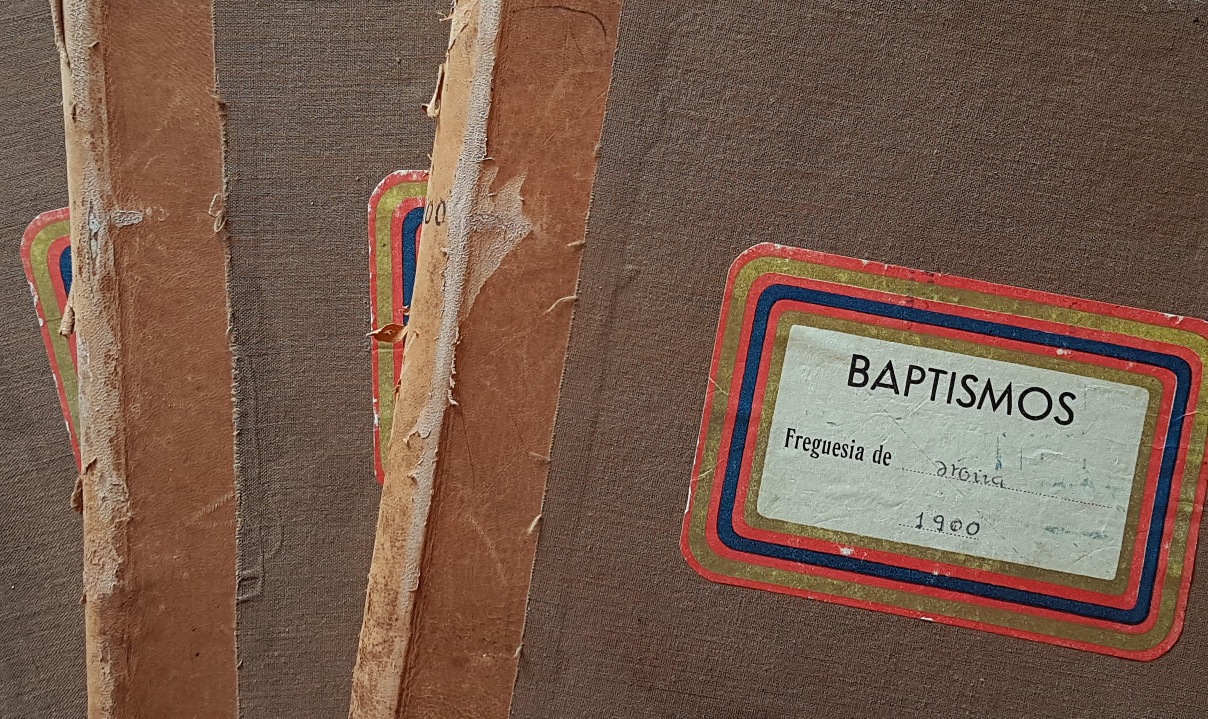 Livros de batismos de Mira