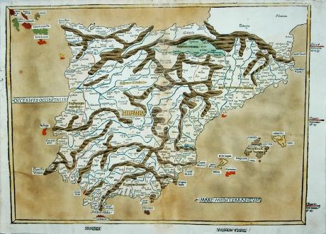 portugal mapa antigo Mapas Antigos de Portugal   Colecção Nabais Conde da Biblioteca  portugal mapa antigo