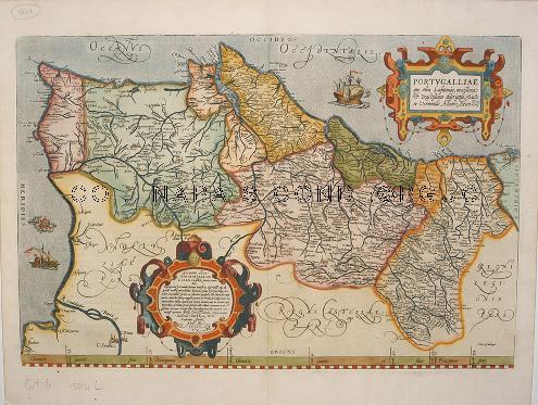portugal mapa antigo Mapas Antigos de Portugal na Biblioteca Joanina   Biblioteca Geral  portugal mapa antigo