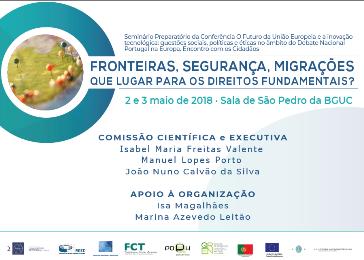Fronteiras segurança Migrações