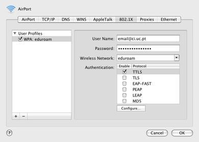 Mac OS X passo 3