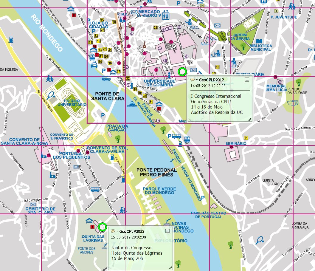 mapa coimbra ruas Mapa De Coimbra | thujamassages mapa coimbra ruas