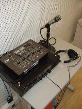 Aparelhagem para produção de conteúdos áudio