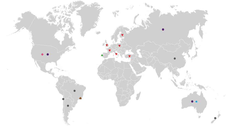 Mapa Programas de Mobilidade