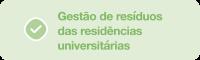 Gestão de resíduos das residências universitárias