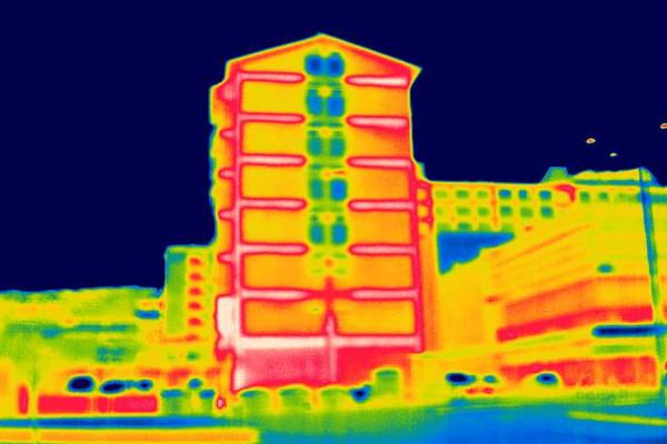 Termografia de edificio