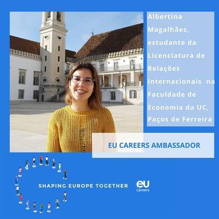 Embaixadora de Carreiras da UE