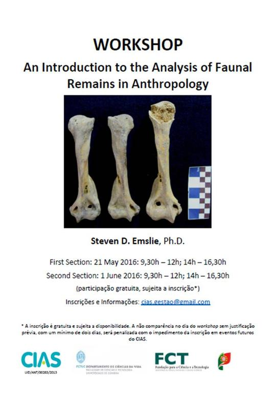 An Introduction to the Analysis of Faunal Remains in Anthropology