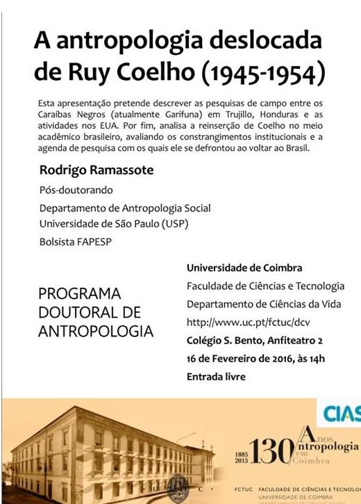 A antropologia deslocada de Ruy Coelho (1945-1954