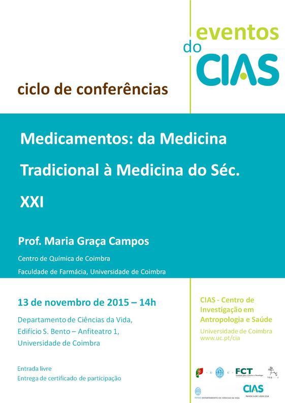 Medicamentos: da medicina tradicional à medicina do Séc. XXI