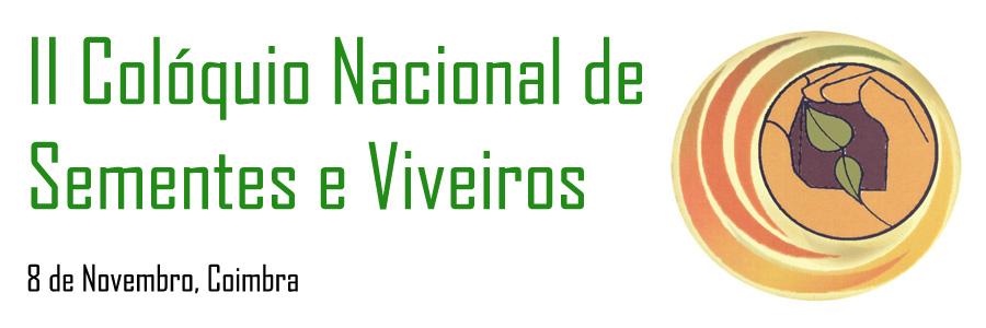 II Colóquio Nacional de Sementes e Viveiros