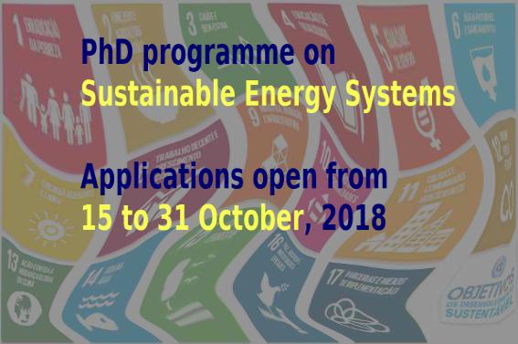PhD applications October 2018