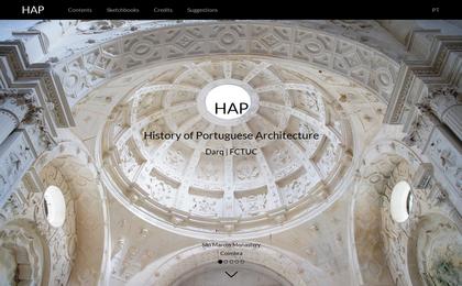 Site - História Arquitetura Portuguesa (EN)