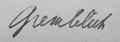 Gremblich Signature