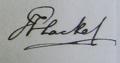 Hackel Signature