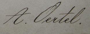 Oertel Signature
