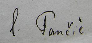 Pancic Signature