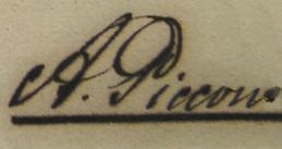 Piccone Signature