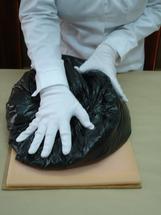 Pressing the specimen 3