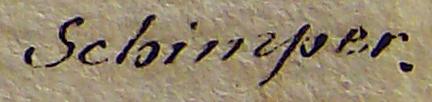 Schimper Signature
