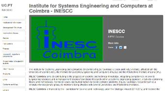 New webpage INESCC