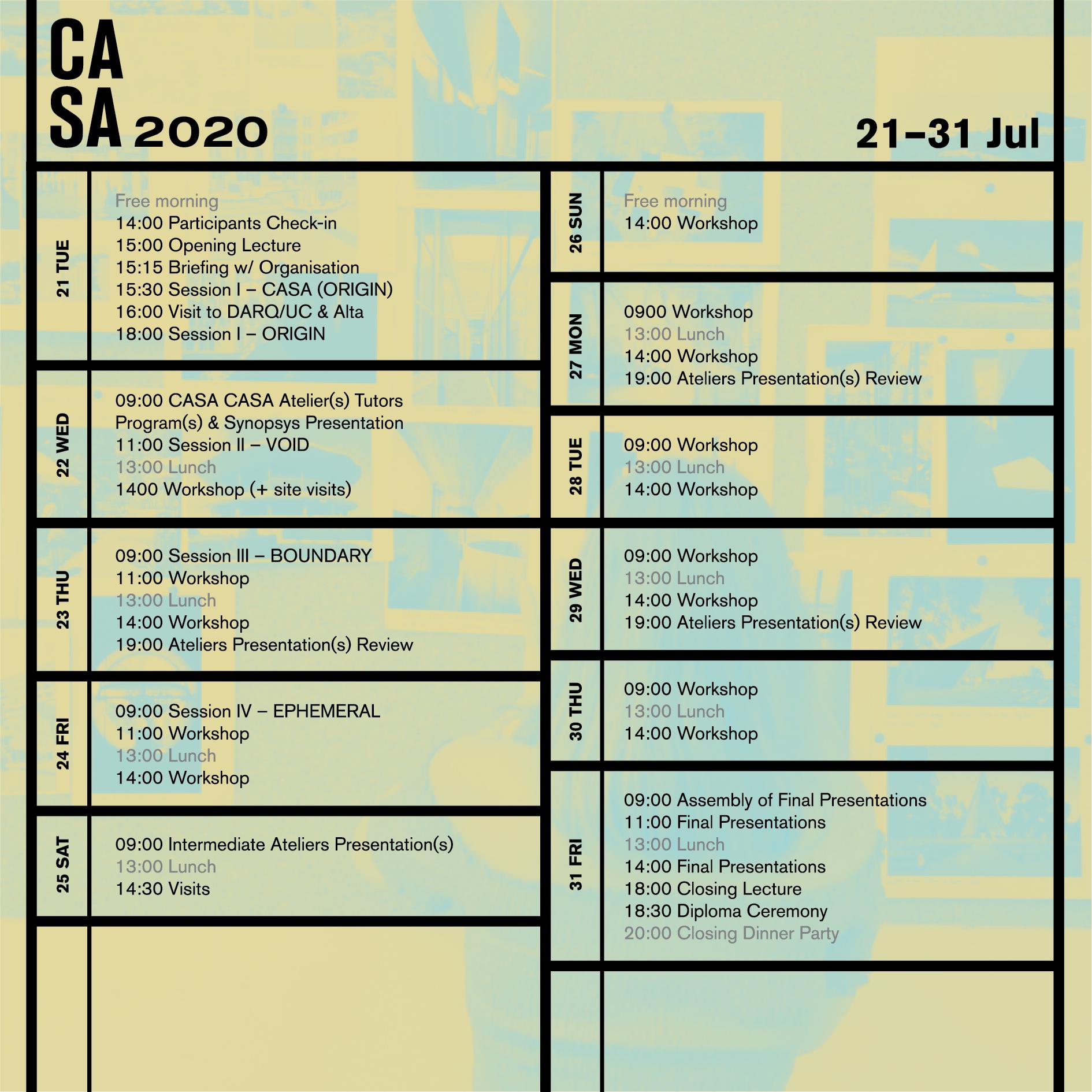 CASA2020_Programme
