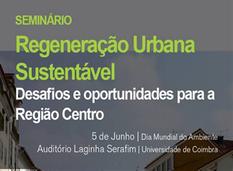 Seminário Regeneração Urbana Sustentável - 5 de junho, DEC