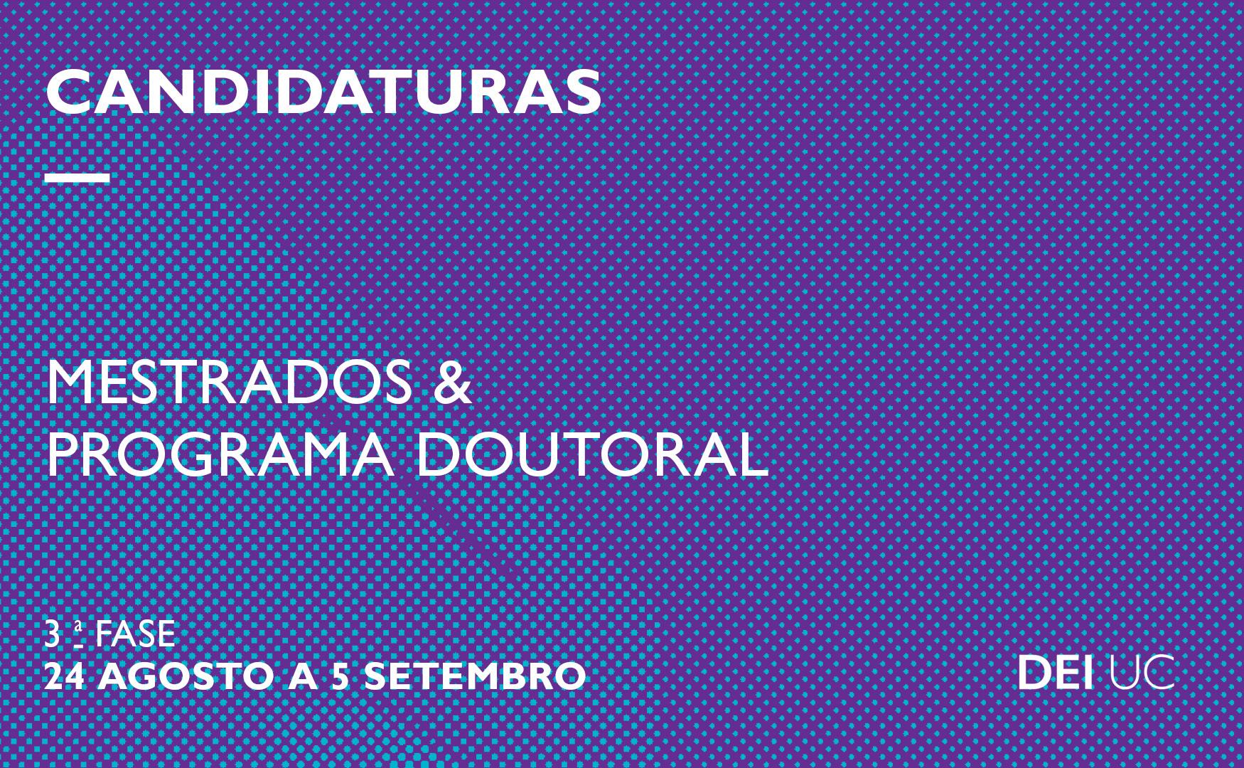 Candidaturas 3ª. Fase 2018 2019