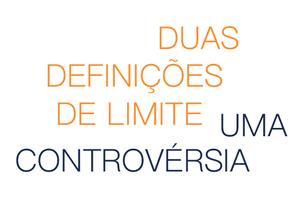 Duas definições de limite: uma controvérsia