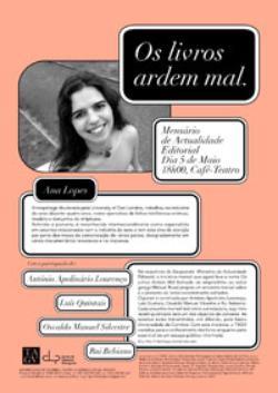 Cartaz - Os Livros Ardem Mal 08 (Mai2008)