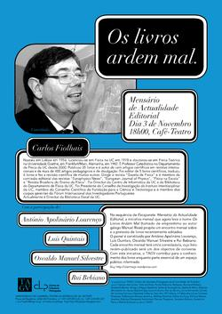 Cartaz - Os Livros Ardem Mal 14 (Nov2008)