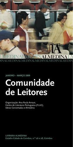 Cartaz - Comunidade de Leitores Almedina (Jan-Mar 2009)