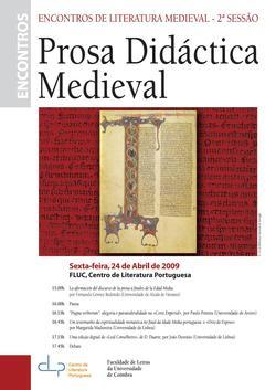 Cartaz - 2º Encontro de Literatura Medieval
