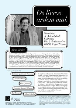 Cartaz - Os Livros Ardem Mal 15 (Fev2009)
