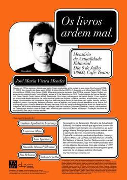 Cartaz - Os Livros Ardem Mal 20 (Jul2009)