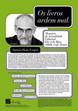 Cartaz - Os Livros Ardem Mal 18 (Mai2009)