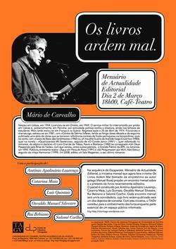 Cartaz - Os Livros Ardem Mal 16 (Mar2009)