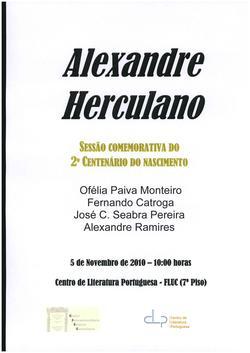 Cartaz - Alexandre Herculano