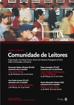 Cartaz - Comunidade de Leitores Almedina (Fev-Abr 2010)