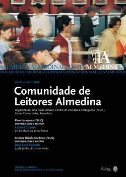 Cartaz - Comunidade de Leitores Almedina (Mai-Jun 2010)