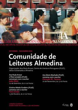 Cartaz - Comunidade de Leitores Almedina (Set-Nov 2010)