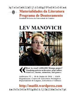 Cartaz - Lev Manovich