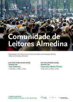 Cartaz - Comunidade de Leitores Almedina (Mai-Jun 2011)