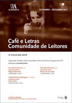 Cartaz - Café e Letras: Comunidade de Leitores (Out-Dez 2011)